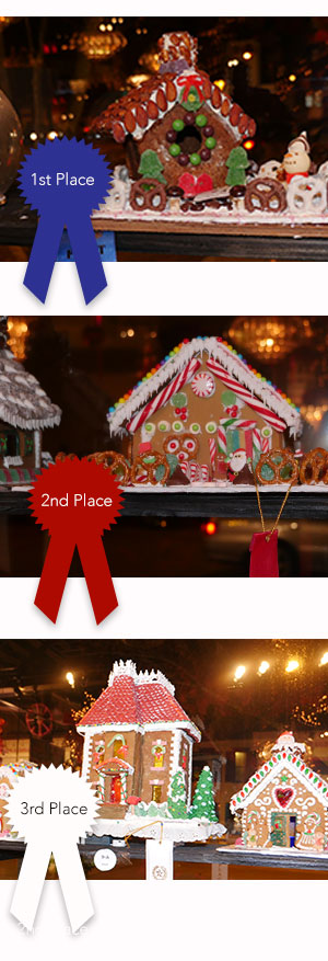 All Chocolate Kitchen's Gingerbread House Competition Award Winners