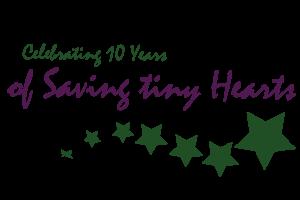 Celebrating 10 years of saving tiny hearts