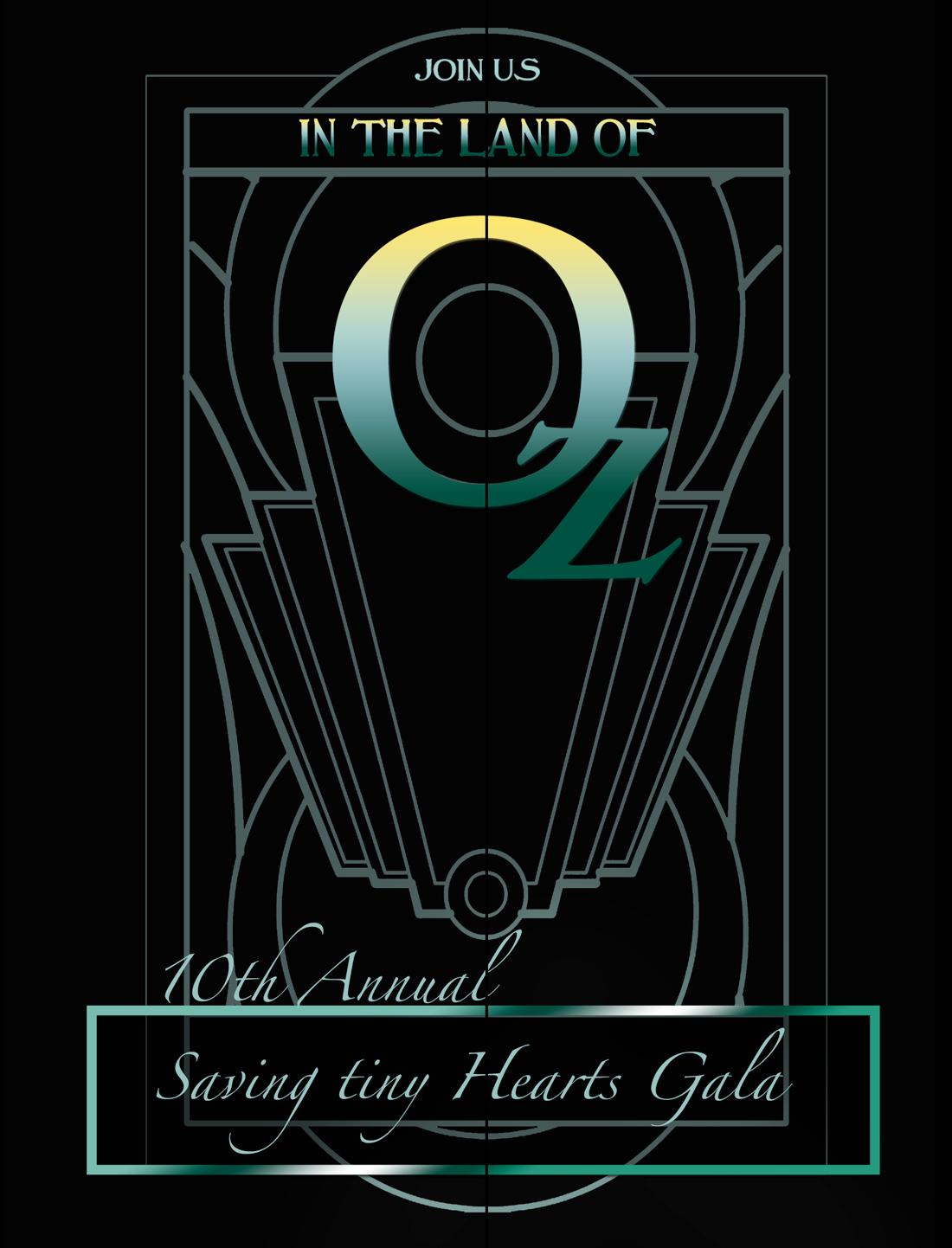Saving tiny Hearts Annual Gala Invitation