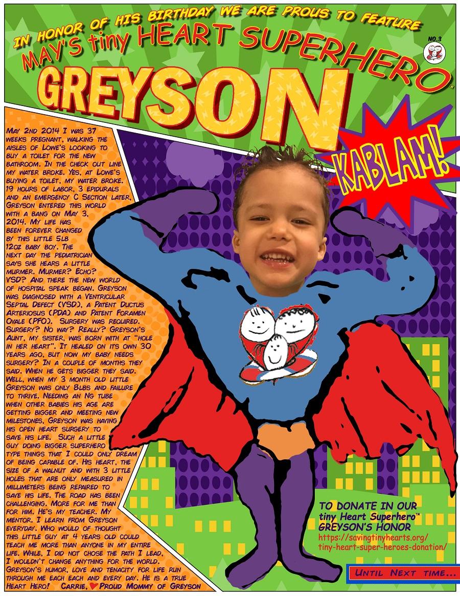 GreysonSuperHero