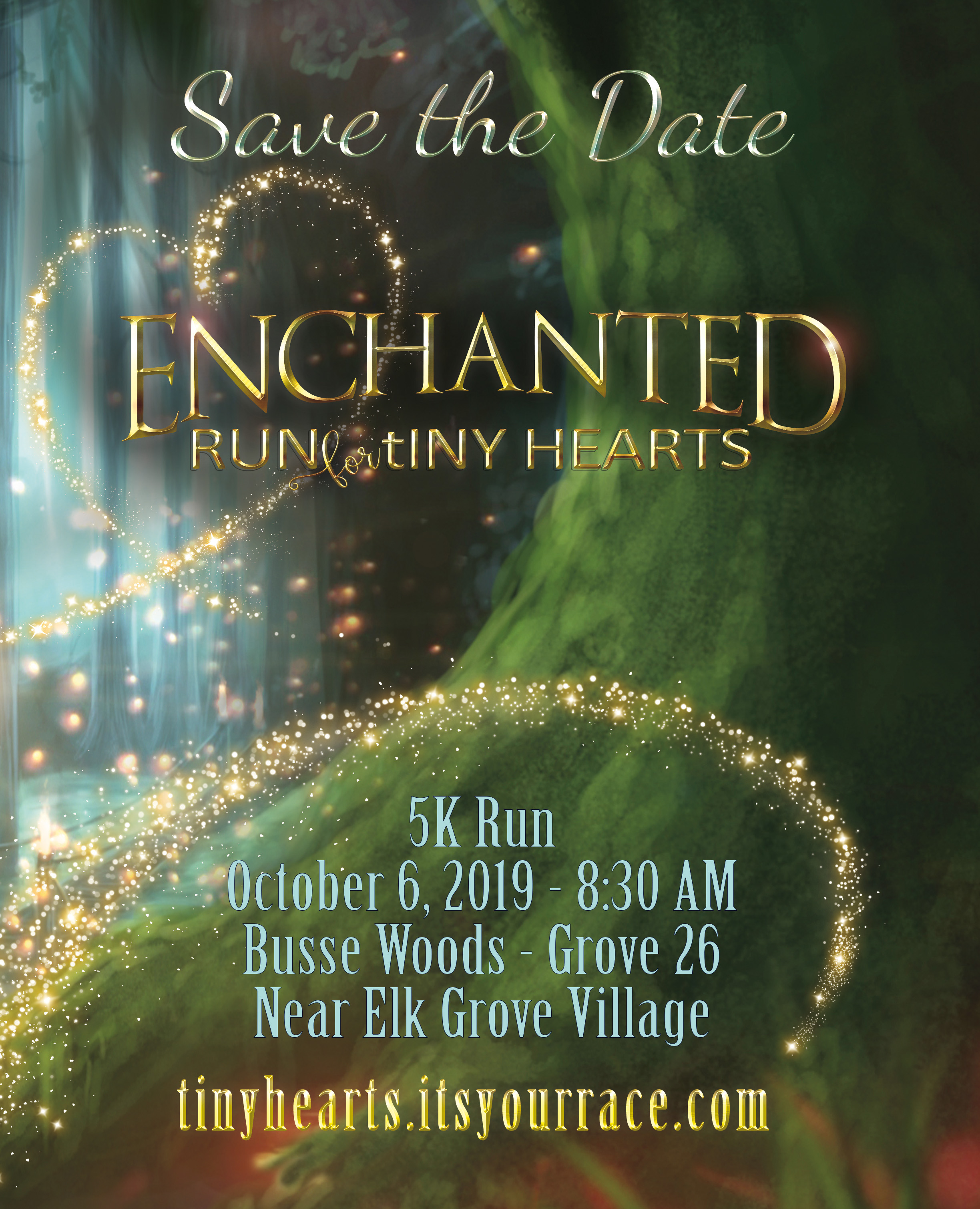 Enchanted Run for Saving tiny Hearts